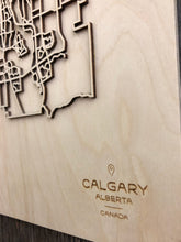 Load image into Gallery viewer, Calgary Street Map