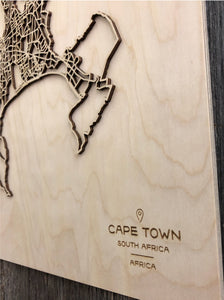Cape Town Street Map