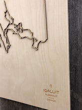 Load image into Gallery viewer, Iqaluit Street Map
