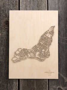 Montreal Street Map