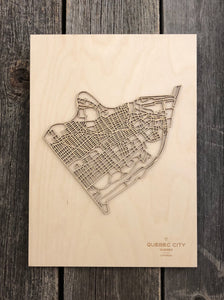 Quebec City Street Map