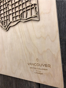 Vancouver Street Map