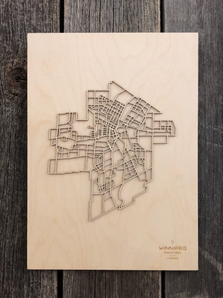 Winnipeg Street Map