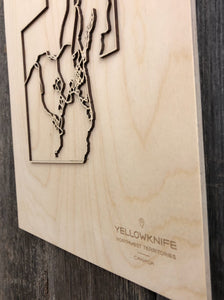 Yellowknife Street Map
