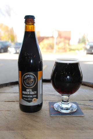 Until Proven Guilty - Tennesse Whiskey Barrel Aged Russian Imperial Stout