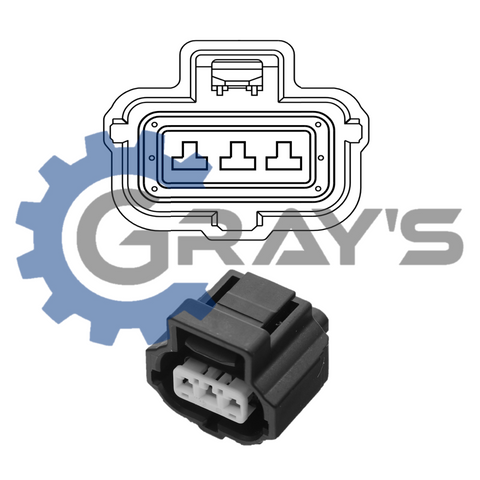 Cummins Neutral Safety Switch Connector 2001 - 2002 Connector Kit