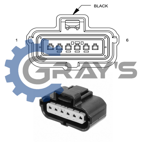 Cummins Neutral Safety Switch Connector 2003 - 2007 Connector Kit