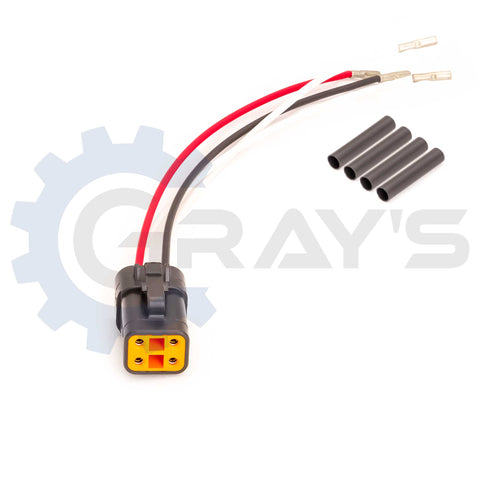 2003 - 2005 Cummins Injector Connector (Gray)