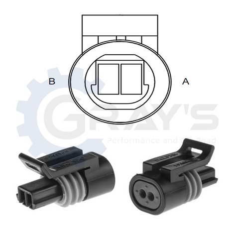 Cummins Coolant Temp Sensor Connector Kit