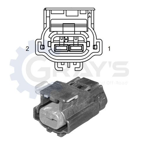 1998 - 2018 Dodge Ram AC Clutch Connector