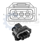 Cummins HPRS Connector 2007 - 2012 Connector Kit
