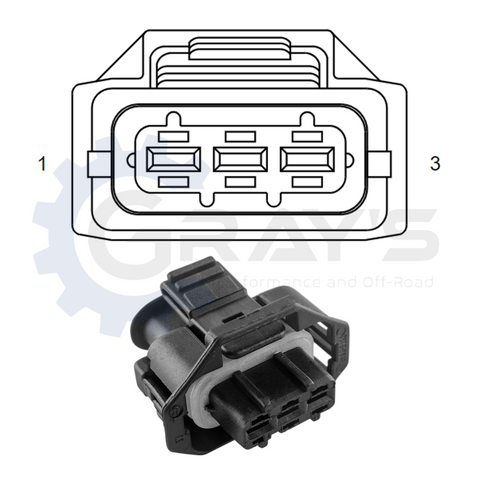 Cummins HPRS Connector 2003 - 2007 Connector Kit
