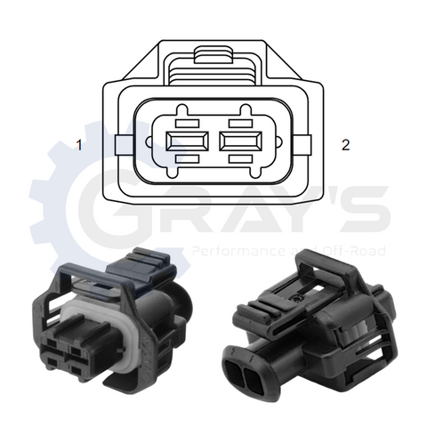 Cummins FCA Connector 2003 - 2018 Connector Kit