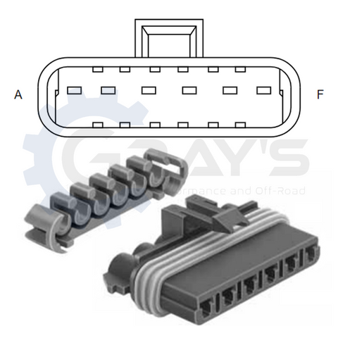 Cummins Injector Connector 2006 - 2018 Connector Kit