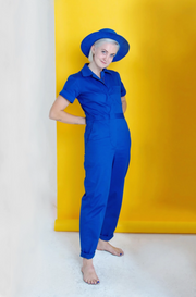 FLIGHTSUIT: ROYAL BLUE