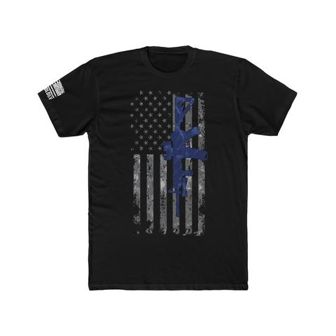 Launched The Thin Blue Line Patrol Rifle T-Shirt