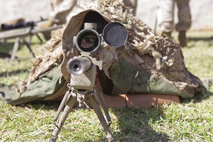 US Marines Scout Sniper School