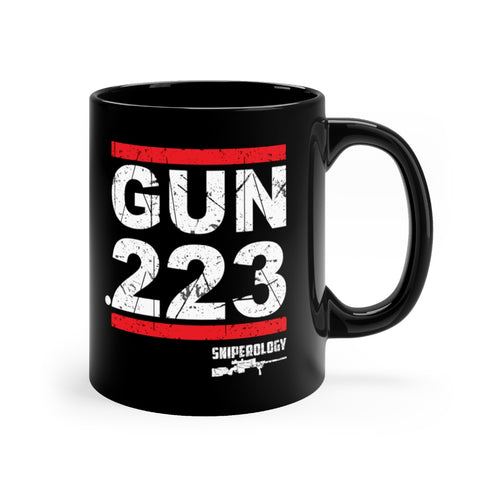 GUN .223 - Black mug 11oz - Sniperology