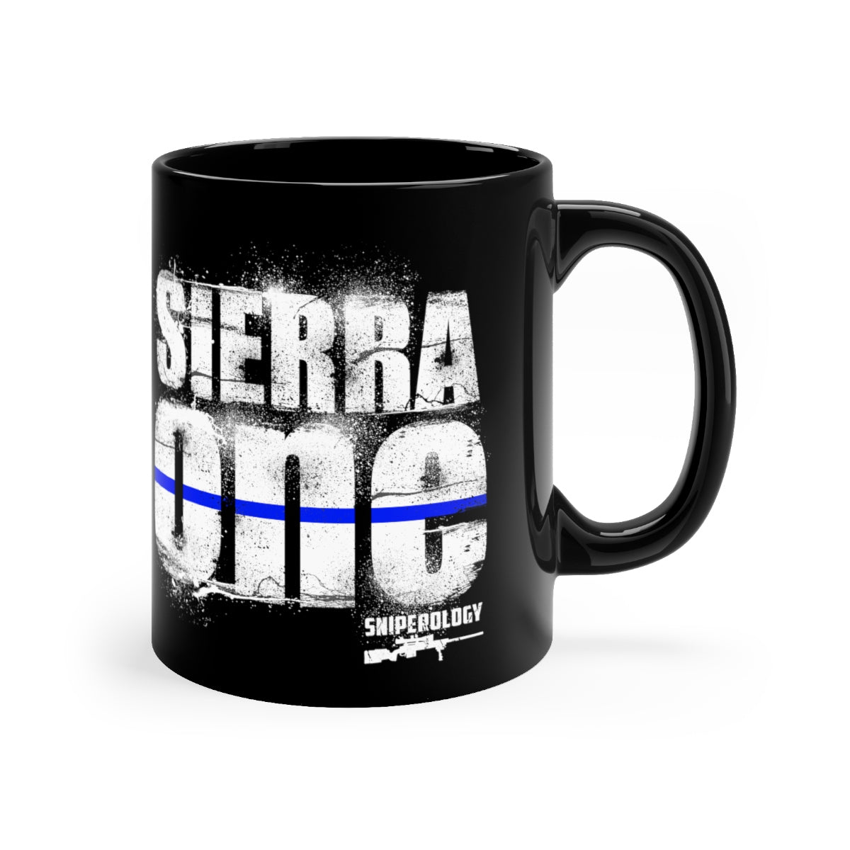 Sierra One - Black mug 11oz - Sniperology