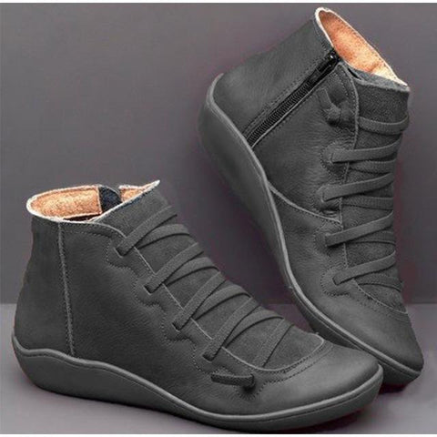 2019 New Arch Support Boots Offer Ankle Boots Tino Kino 20 Store gray US 5-5.5 (EU 36)