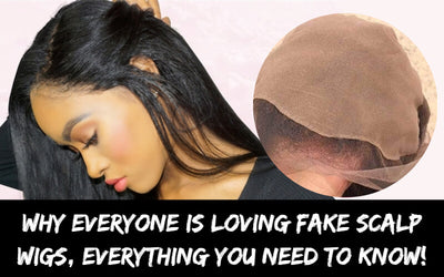 Why Everyone is loving fake Scalp Wigs, everything you need to know!