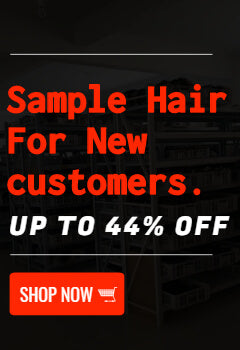 44% off sample hair