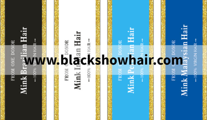 Black Show Hair Extensions Logo