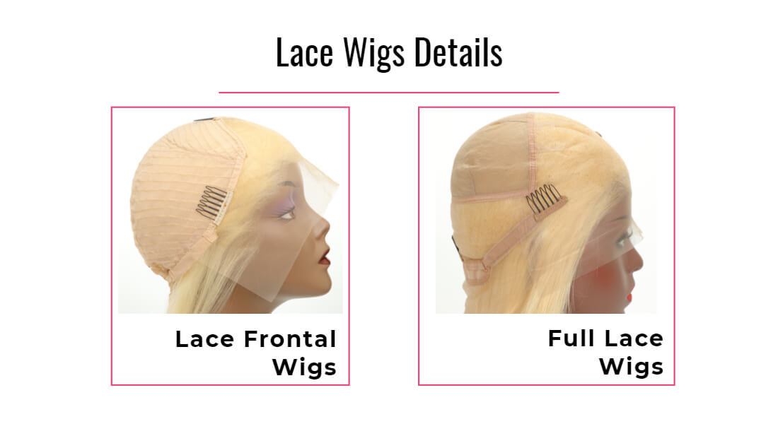 Black Show Hair blonde lace front wig show