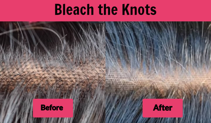 Bleach the Knots