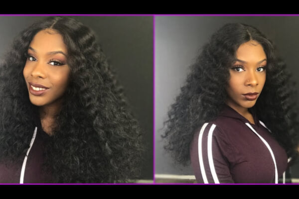 Create A Center Part Wig