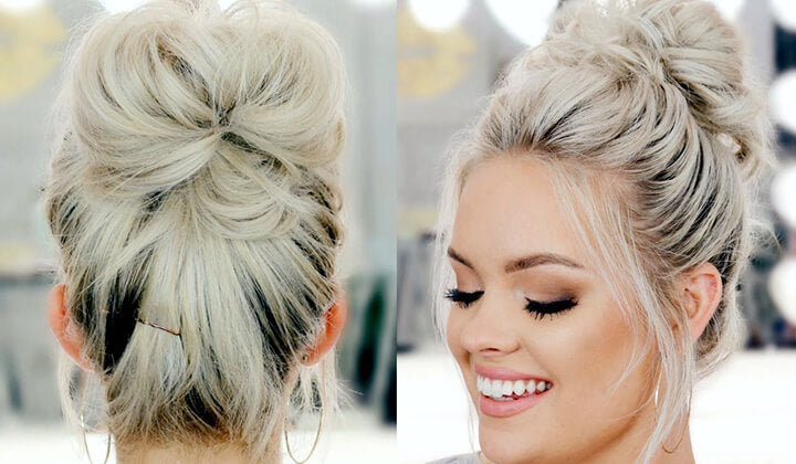 Friday's Messy Bun Method