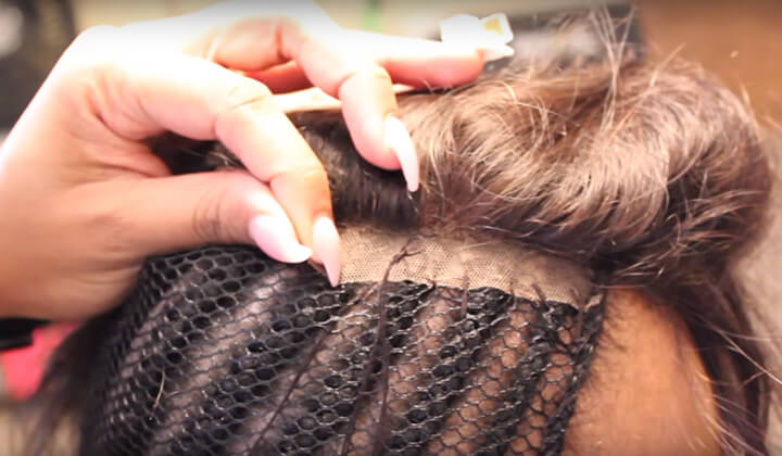 Sew Your Closure down