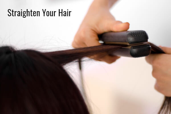 Straighten Your Hair