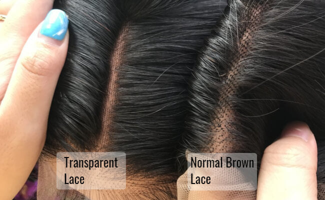 The Difference Between Transparent Lace And Normal Brown Lace