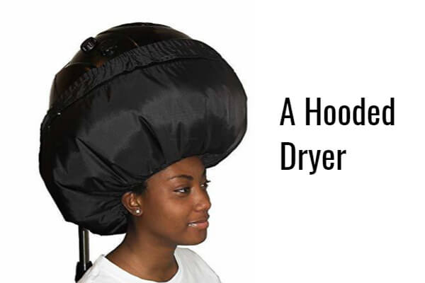 a hooded dryer