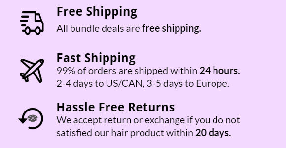 bundle deals are free shipping