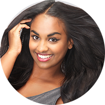 Black Show Hair lace front wigs for Black women