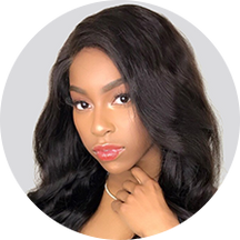 virgin Malaysian hair black show hair