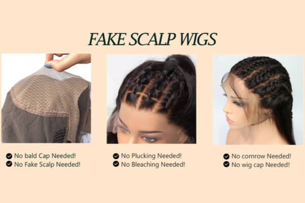What is a Fake Scalp Wig