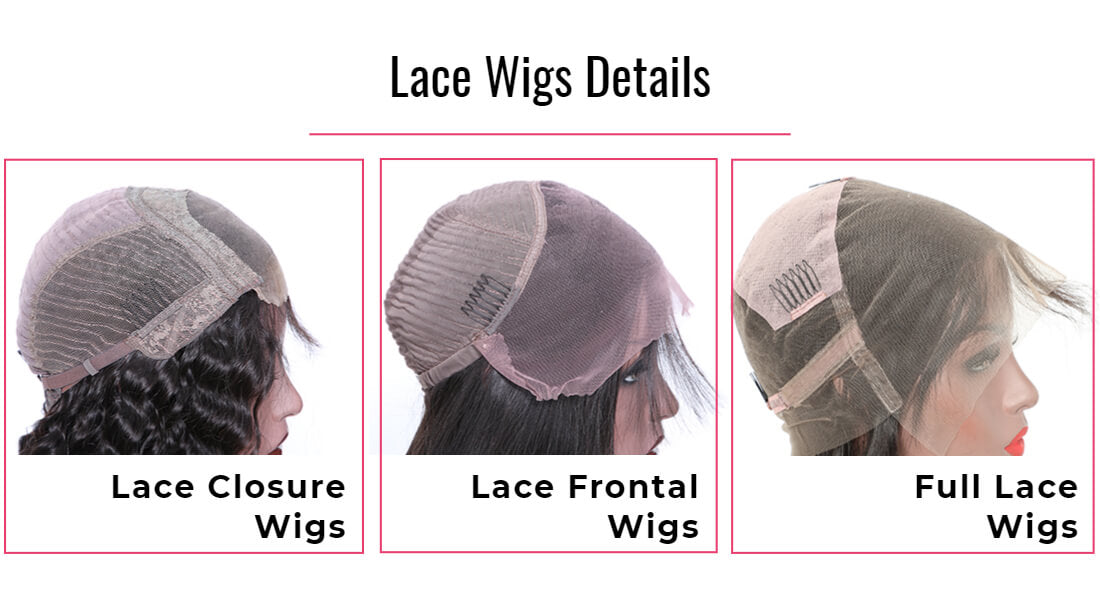 full lace front wigs details - Black Show Hair