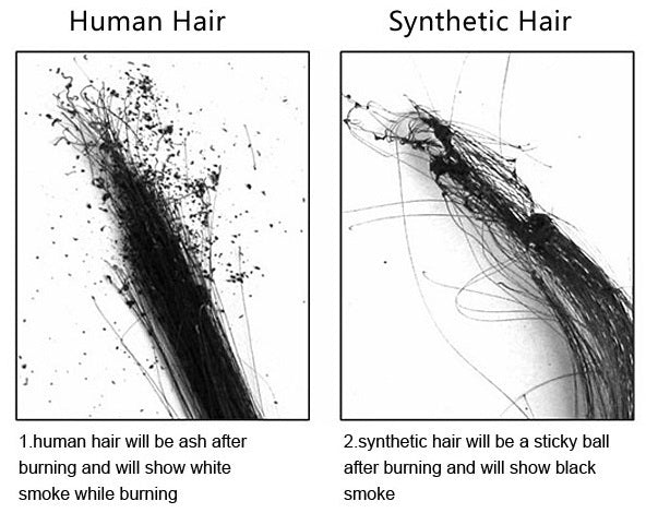 human hair VS synthetic