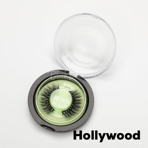 3D Mink Lashes Extension - Hollywood - Black Show Hair