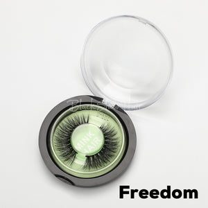3D Mink Lashes Extension - Freedom - Black Show Hair