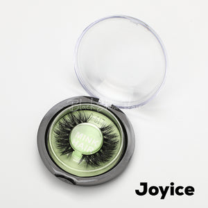 3D Mink Lashes Extension - Joyice - Black Show Hair