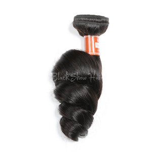 Virgin Malaysian Loose Wave Hair Bundle - Black Show Hair