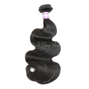 Virgin Peruvian Body Wave Hair Bundles - Black Show Hair