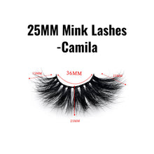 25mm mink lashes Camila