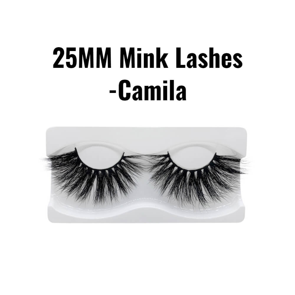 25mm 3d mink lashes Camila