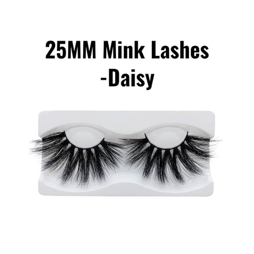 25mm 3d mink lashes Daisy