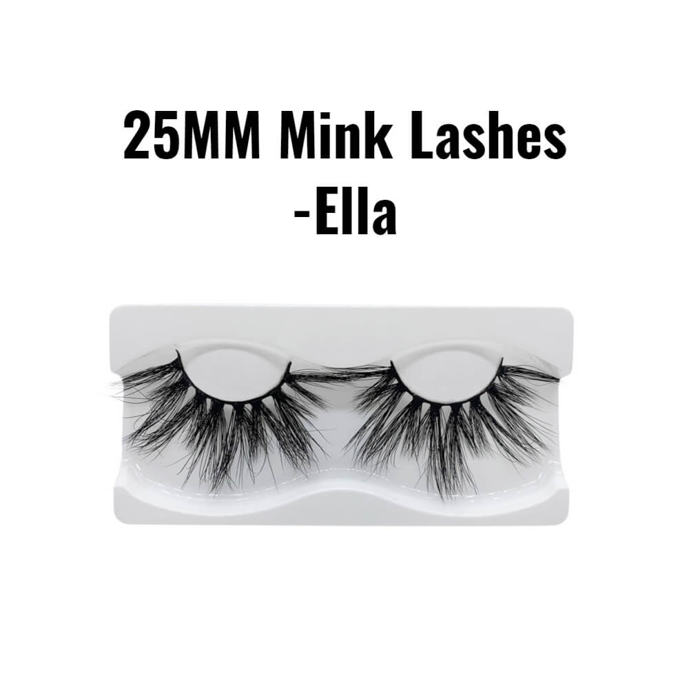 25mm 3d mink lashes Ella